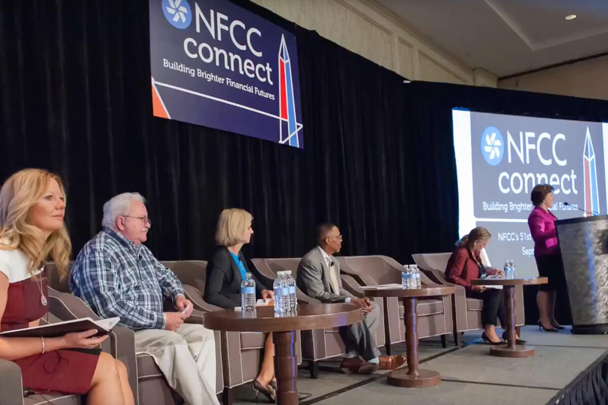 Panel at the NFCC connect Conference