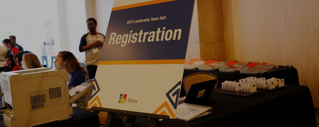A smooth event registration process sets the tone for the whole event