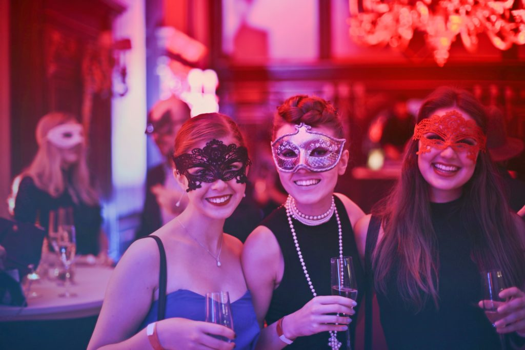 Dressing up for an event such as a Masquerade Ball can be a fun way to support a good cause