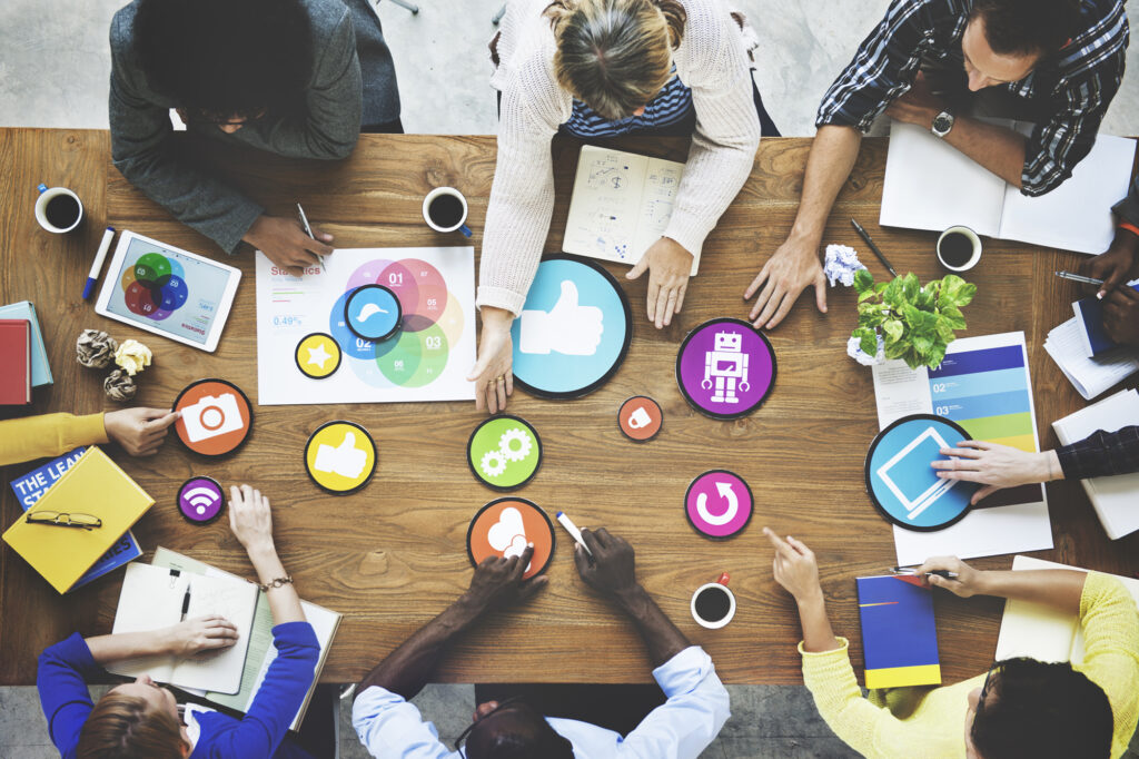 Collaborative content encourages input and participation from many sources